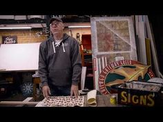 The Chicago Sign Painter - Ches Perry of Right Way Signs of Chicago - YouTube