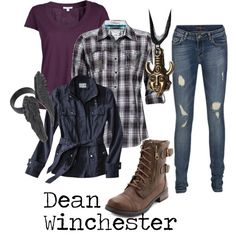 """""""Dean Winchester"""" by michelle-geiser on Polyvore"""
