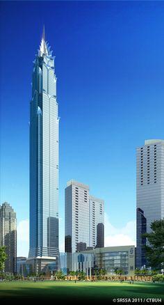 The Signature Tower at Sudirman CBD, South Jakarta / Hotel - Office / 638m / Smallwood - Reynolds - Stewart - Stewart - PDW Architects / Preparing