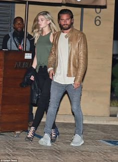 See photos as Scott Disick and girlfriend Megan Blake Irwin go on a dinner date