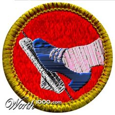 Lead Foot Merit Badge