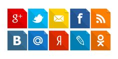 Иконки социальных сетей Png
