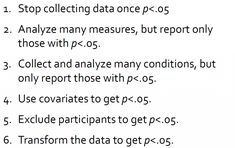 p-hacking, or cheating on a p-value   Freakonometrics