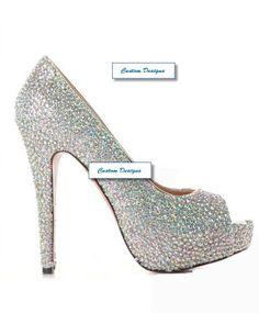 a227f377075 AB Rhinestone Pump -Wedding Shoes Bridal Heels Shoes