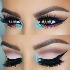 If you'd like to transform your eyes and improve your attractiveness, finding the very best eye make-up tips can really help. You'll want to be sure you put on make-up that makes you start looking even more beautiful than you are already. Gorgeous Makeup, Pretty Makeup, Love Makeup, Makeup Inspo, Makeup Inspiration, Crazy Makeup, Make Up Looks, Makeup Goals, Makeup Tips