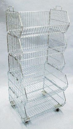 5-Tier Stacking Basket Display