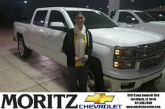 This is my 3rd vehicle from Moritz and the service is the best in the world. DJ is a great salesman and is very informative and helpful. He went above and beyond to make sure my vehicle looked great! We will continue to be customers for future car purchases. We love Moritz!! - kimberly wood, Tuesday, November 11, 2014 http://www.moritzchevrolet.com/?utm_source=Flickr&utm_medium=DMaxxPhoto&utm_campaign=DeliveryMaxx