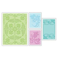 Sizzix ORNATE FLOWERS & FRAME Set by DivineDesignsbyBonni on Etsy