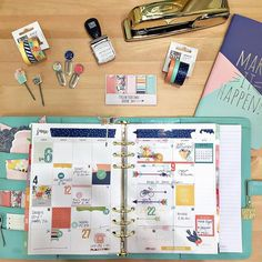 Oh my gosh, take a look at Posh!  Such a beautiful Carpe Diem planner collection.  The Washi, the clips, those page flags.... oh my, it won't be long, shipping to retailers in late July! #carpediem2016 #nss2016 #ssposh