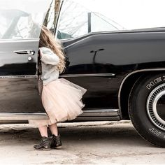 Girls ride... Rocking ballerina Tulle skirts and more!