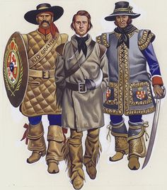 Prisoner Escorted in New Mexico (Original) by American History (Ron Embleton) at The Book Palace Mexican Army, Mexican American War, American Civil War, American History, Spanish Heritage, Conquistador, Le Far West, Mountain Man, Military History