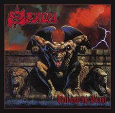 """L'album dei #Saxon intitolato """"Unleash the beast""""."""