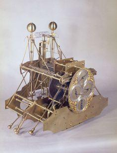 John Harrison's H1 - National Maritime Museum. First sea clock