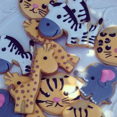 Wildlife cookies by Ginger Pops