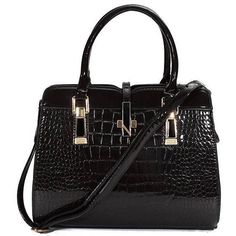 Women Crocodile Grain Elegant Casual PU Leather Crossbody Bag Cross... ($17) ❤ liked on Polyvore featuring bags, handbags, shoulder bags, newchic, cross body handbags, crocodile purse, pocket purse, crocodile handbag and cross body shoulder bag