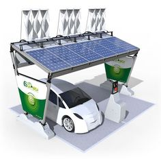 Wind and solar charging station