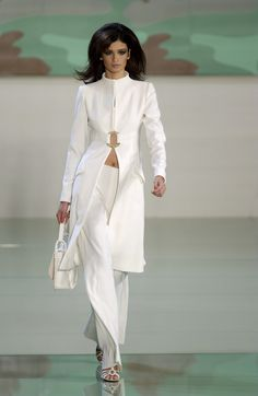 Valentino at Paris Fashion Week Spring 2003 - StyleBistro
