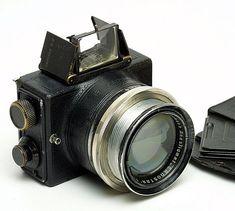 35Mm Camera | Ernemann Ermanox-Camera with focal plane shutter and Ernostarf/2 100mm ...