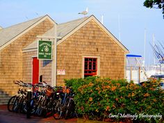 Nantucket Bike Shop, Nantucket Boat Basin, Nantucket Island, Masschusetts.