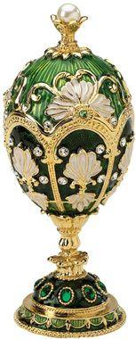 The Petroika Collection: Larissa Faberge Style Enameled Egg