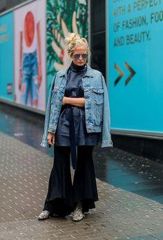12 τρόποι να φορέσεις το τζιν μπουφάν σου αυτή τη σεζόν - Μόδα | Ladylike.gr