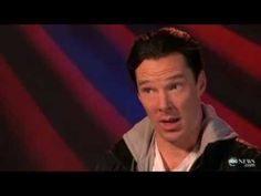 Benedict Cumberbatch Interview | ABC News. A GREAT and interesting interview!!!! And he sings.<-- the thing that caught my attention was the last bit :3