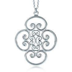 Paloma's Venezia Goldoni pendent quadruplo pendant in sterling silver. [275 USD]