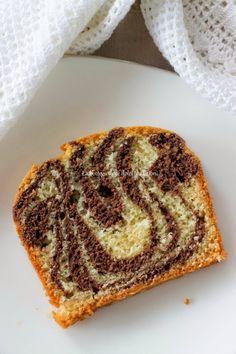Plumcake zebrato