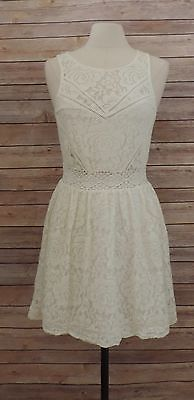 KIMCHI-BLUE-M-Medium-URBAN-OUTFITTERS-Ivory-LACE-Dress-Sleeveless