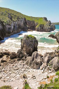 La Capilla beach in Celorio, Llanes, Asturias - you might not know this place, or you might not know it is called this way. So you owe it another visit, am I right?