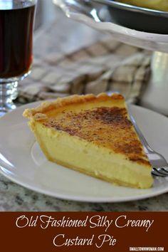 Custard Pie   Creamy Silky Custard Pie   Pie   Dessert   Old Fashioned Custard Pie   Small Town Woman #custardpie #pie #oldfashionedcustardpie #smalltownwoman