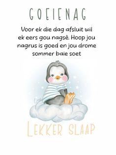 Good Night Greetings, Goeie Nag, Christian Messages, Afrikaans, Friendship, Wisdom, Words, Kid Stuff, Amanda