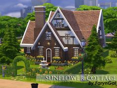 Hello! This cottage is perfect for a family with 2 children. It is fully furnished and ready to play!  Found in TSR Category 'Sims 4 Residential Lots'