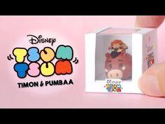 Pumbaa & Timon Tsum Tsum polymer clay tutorial