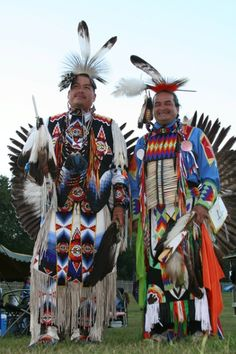 Native American Indian Pow Wow Costumes.