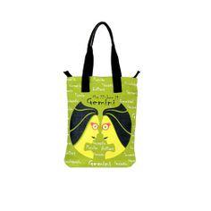 Gemini Jute Green Bag