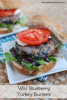 Wild Blueberry Turkey Burgers  #sponsored @b R O O K E // W I L L I A M S Knisley !