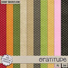 Gratitude Dotted Paper Pack