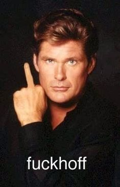 David Hasslehoff the hoff fuckhoff K 2000, Mejores Series Tv, I Salute You, Baywatch, Favorite Words, Fine Men, Adult Humor, Make You Smile, Are You The One