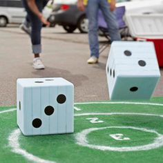 GREAT OUTDOOR GAMES: for sports & carnival themes