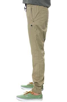 ($59.00) LRG Pants Game Changer Jogger Pants in Khaki - Karmaloop.com