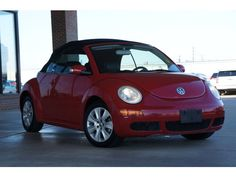 Used 2008 #Volkswagen New Beetle S (M5) in Fort Smith, AR Area - Harry Robinson Buick GMC #VW #Convertible