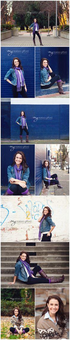 Senior Girl Photography, Urban