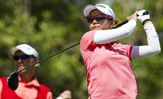 Japan's Ai Miyazato shot a 2-under 70 on Friday in difficult wind conditions to take a three-stroke lead into the final round of the LPGA LOTTE Championship.