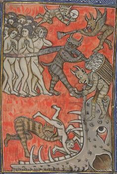 Bibliothèque nationale de France, Département des manuscrits, Français 13096.  Apocalypse de S. Jean, en français. 14th century