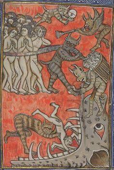 Bibliothèque nationale de France, Département des manuscrits, Français 13096.  Apocalypse de S. Jean, en français. 14th century