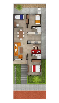 54 Best Ideas Indian Small Home Plans House Layout Plans, Dream House Plans, Small House Plans, House Layouts, House Floor Plans, Minimal House Design, Modern Small House Design, Sims House Design, Duplex House Design