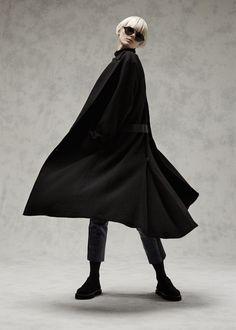 Tillmann Lauterbach Men's Mesens Coat (Black Abyss)