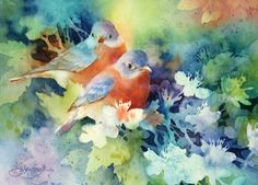 Beautiful watercolor Susan Crouch