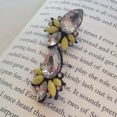 """Spotted while shopping on Poshmark: """"HOST PICK""""Bee"""" colored studs""""! #poshmark #fashion #shopping #style #Jewelry"""